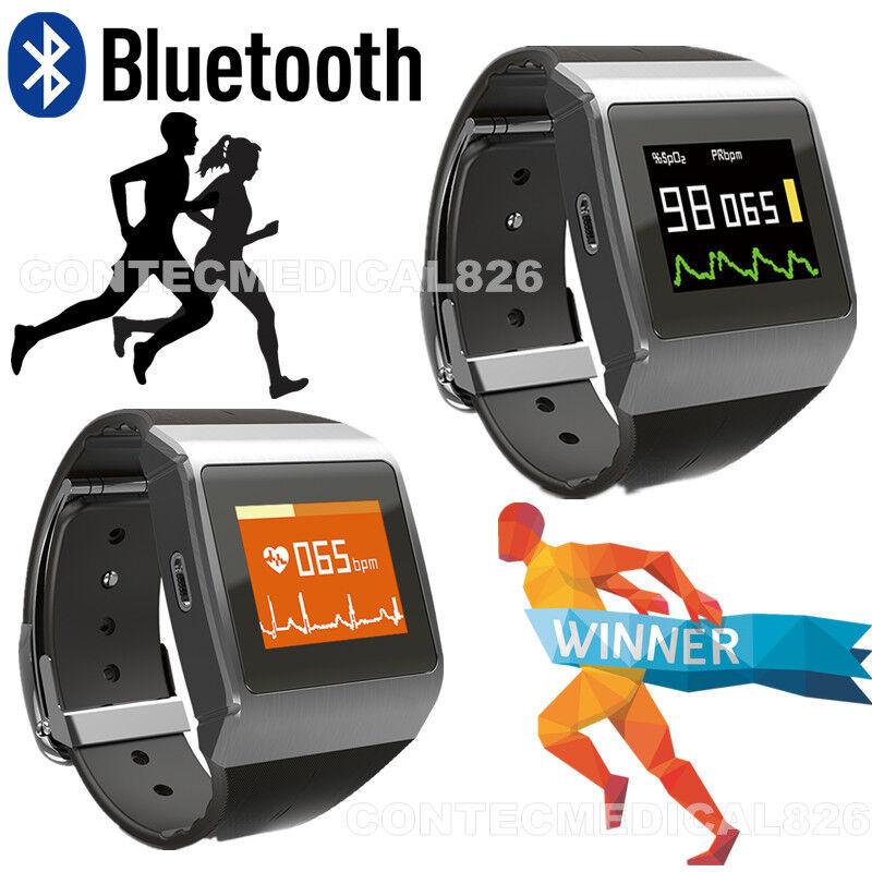 CONTEC CMS50K Wrist ECG SPO2 Monitor Heart Rate Monitor&Pedometer&Watch&Calorie