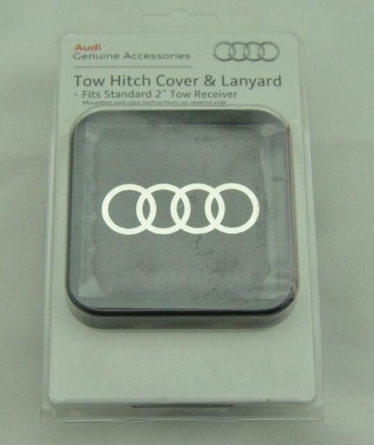 AUDI Genuine ZAW092702B Trailer Hitch Cover
