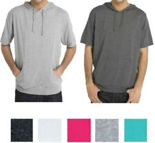 Southpole Men s Anorak Colorblock Short Sleeve Hoodie Single Jersey ... 1f7c36d45