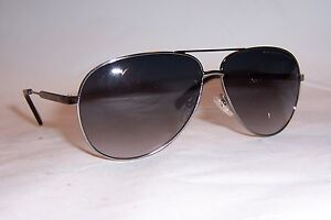 NEW MARC BY MARC JACOBS SUNGLASSES MMJ 431//S 67G-EU RUTHENIUM//GRAY AUTHENTIC