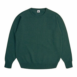 Community-Clothing-Women-039-s-Green-Crew-Neck-Jumper