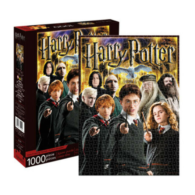 Harry Potter Collage 1000 Piece Jigsaw Puzzle NEW