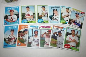 2018-Topps-Archives-Rookie-lot-of-12-Torres-Rosario-Fried-Flaherty-Sims