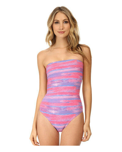 NWT  198 Marc by Marc Jacobs Lily Strapless Monokini One Piece Swimsuit XL