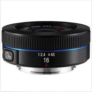 Samsung-NX16mm-F2-4-i-F-Ultra-Wide-Lens-16mm-For-NX30-NX500-NX300M-NX3000-No-BOX