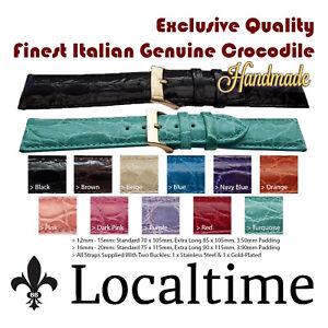 Exclusive-Quality-Finest-Italian-Handmade-Genuine-Crocodile-Watch-Straps-12-20mm