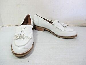 eb5e4d5971a Details about Women's Shoes - STEVE MADDEN White Meela Tassel Faux Fringe  Loafers Size 7M