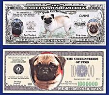 Two Dachshund K-9 Dog Collectible Novelty Money Bills #281