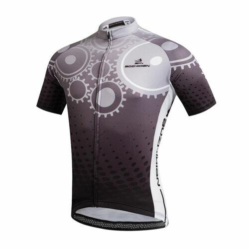 Herren Radtrikot Kurzarm Fahrradshirt Rennrad Trikot Radsport Jersey Tops S-5XL