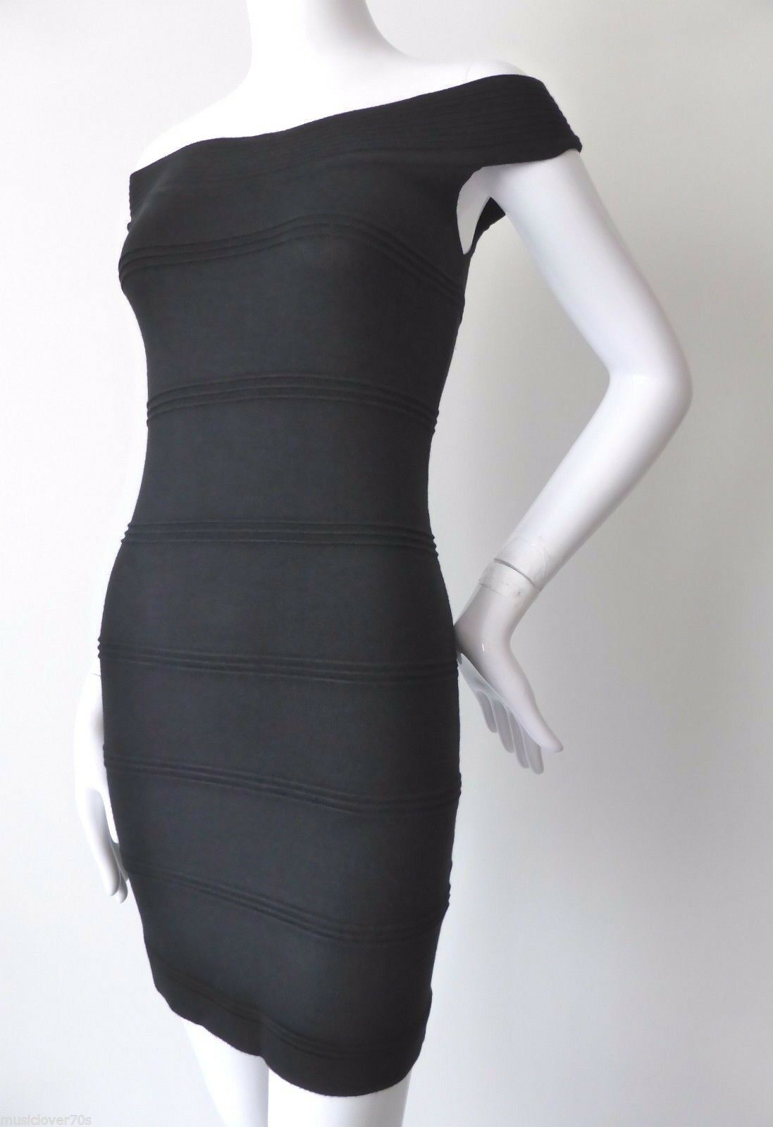 PILGRIM Woherren Dress NWT  Größe Small Off the Shoulder Bodycon Mini