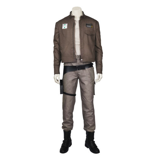 Original Rogue One:A Star Wars Story Cassian Andor Cosplay Costume Custom Size