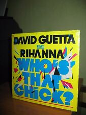 DAVID GUETTA FEAT RIHANNA WHO'S THAT CHICK CD SINGOLO CARDSLEEVE NUOVO SIGILLATO
