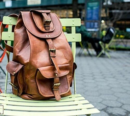 Real Leather Backpack For Men Travel 20