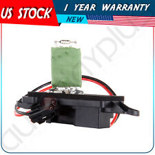 Heater Blower Motor Resistor Fit Buick Chevy GMC Isuzu Olds Manual A/C OE#RU377X
