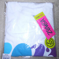 Zumba Fitness 2013 Dream Together Instructor Convention Tshirt White - S/xs