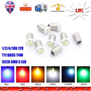 T10 W5W 501 12 SMD 3528 LED Car Interior Lights Ceiling Light Sidelight Bulb 12V
