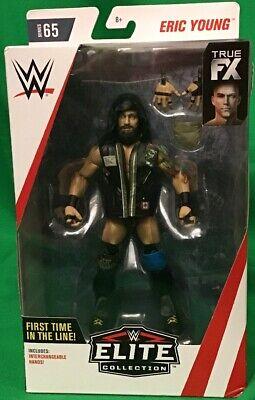 WWE Mattel Eric Young Elite Series #65 Figure