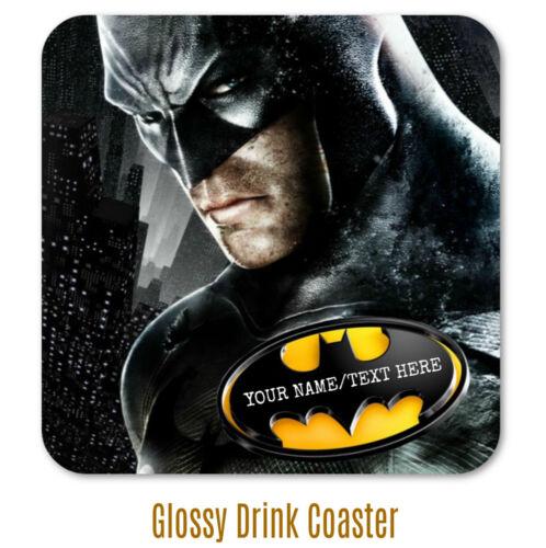 Batman Personnalisé Coaster-Grand Noël Secret Santa Anniversaire Idée Cadeau