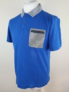 Mens-Lacoste-Polo-Shirt-Blue-Size-4-Large-40-Chest-Lacoste-Sport