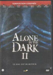 Alone In The Dark II Dvd Rick Yune  Lence Henriksen Danny Trejo Jason Connery