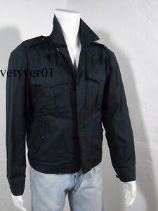 a65f6506b3b2 Polo RALPH LAUREN Military/Army/Flight Men's Black Cotton-Linen ...
