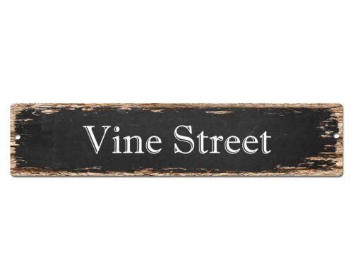 SP0576 VINE STREET Street Sign Home Cafe Store Shop Bar Chic Decor Gift