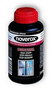 Noverox-Universal-Rost-Stopp-250-ml-Rostumwandler-Rostgrundierung-Rostschutz