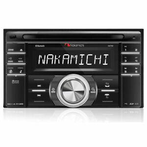 NAKAMICHI NA788 DOUBLE DIN CD RECEIVER W/ AM/FM RADIO TUNER & BLUETOOTH BT NEW