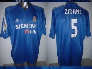 623bbe5e82e Real Madrid ZIDANE Adidas Adult XL France Shirt Jersey Football ...