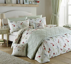 Country-Journal-Country-Style-Bedding-Range-Green-Reversible-Design