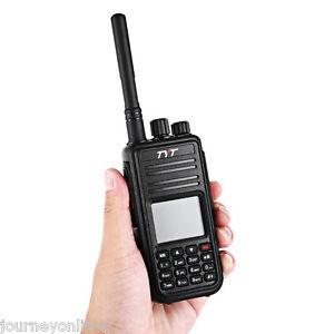 TYT-Tytera-MD380-DMR-portatil-WALKIE-RADIO-DIGITAL-UHF-400-480mhz-Enchufe-EEUU