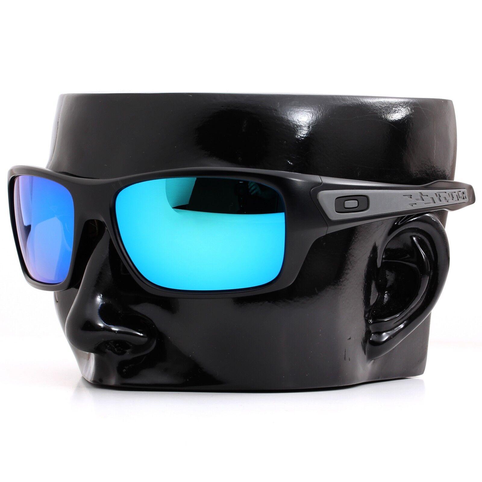ab8c8a50a0 Polarized IKON Iridium Replacement Lenses For Oakley Turbine Ice Blue  Mirror