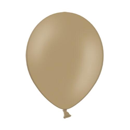 Latex Ballons ø 23 cm pastel Cappuccino 50 lots dekoballons Ballons Helium