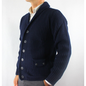 94ee39ad4218a7 GIACCA UOMO CARDIGAN CON TASCHE E BOTTONI MADE IN ITALY IN LANA CON ...