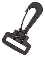 10 - 1 Inch Plastic Swivel Hook Snap