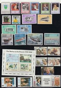 Pitcairn-Islands-page-of-mint-stamps-circa-1980-039-s