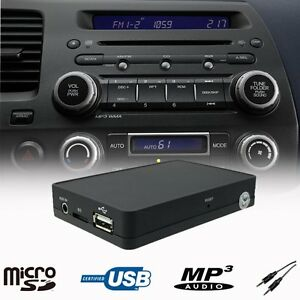 car usb sd aux mp3 player cd changer adapter interface. Black Bedroom Furniture Sets. Home Design Ideas