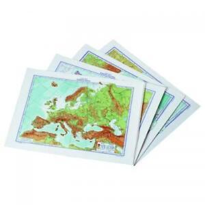 Cartina Geografica Europa Politica Muta.Dettagli Su Confezione Da 25 Pezzi Cartina Geografica Europa Muta 757029