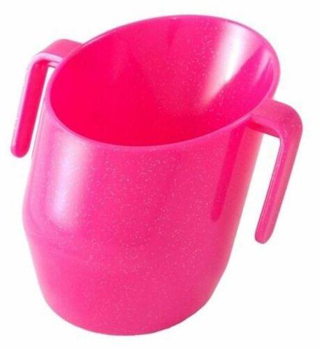SPARKLE CERISE Baby-Kind-Baby-Trink Ausbildung Neu Bickiepegs DOIDY CUP