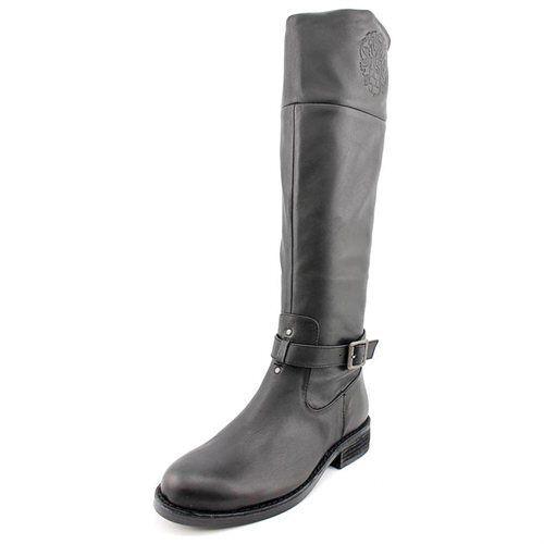 Vince Camuto Flavian Moda Mujer Negra Cuero Moda Flavian botas Altas Hasta La Rodilla ede6ac