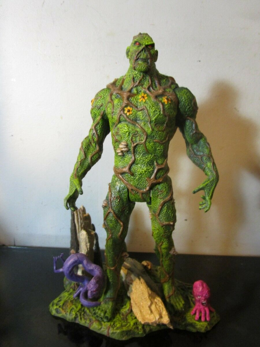 SWAMP THING 2011 SDCC Exclusive with Un-Men 9.5  Mattel Figure loose