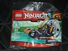 Brand new and sealed LEGO Ninjago Stealth Marshboat Polybag 30426