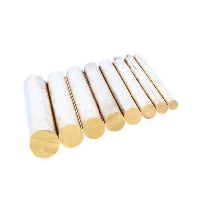 "Dia 9mm Brass Round Rod Bar Stock 10/"" Made of Premium Brass"