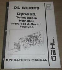 Gehl Dl7 Dl9 Dl11 Dl12 Telescopic Forklift Operation Amp Maintenance Manual Book