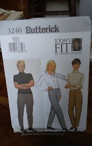 Oop-Butterick-Easy-Betzina-3240-misses-tapered-pants-hips-34-5-38-5-034-NEW