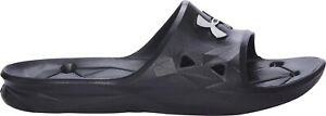 Under-Armour-Locker-III-Mens-Sliders-Black-Pool-Shower-Gym-Changing-Room-Slides