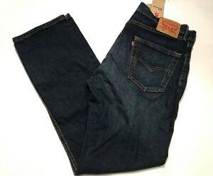 NEW-Levi-039-s-Men-039-s-505-Regular-Fit-Straight-Leg-Jeans