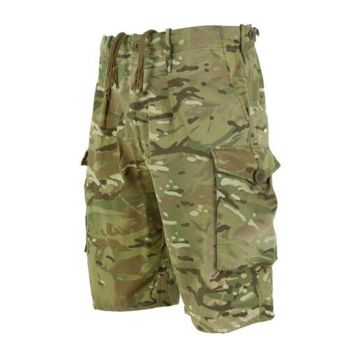 Genuine British army military combat MTP camouflage shorts military bermuda