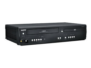 Sanyo-Corp-Dv220f-Dual-Deck-DVD-amp-VHS-Player-with-Line-in-recording