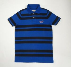 bd26c307 Image is loading NWT-Hollister-Mens-Polo-Shirt-Striped-Vintage-Muscle-